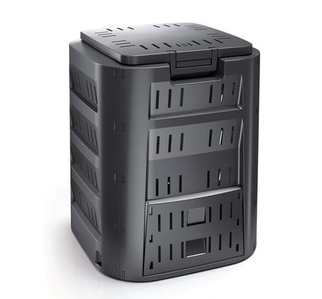 Kompostownik - COMPOGREEN 320 litrów czarny (1)
