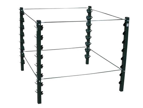 Kompostownik metalowy - 1300 litrów STELAŻ (1)