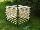 Kompostownik metalowo - drewniany 1300 litrów (4)